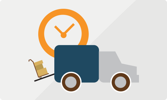 The time it takes to ship FTL Freight vs LTL Freight